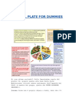 Eat Well Plate for Dummies