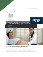Programas de Promocion y Prevencion