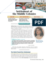 section 2 4 settlement of the middle colonies