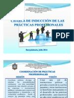 Charla de Inducción de Las Practicas Profesionales