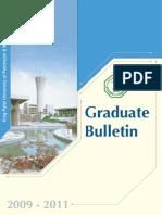 Grad Bulletin 09-11