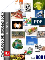 Catalogo de Normas Bolivianas