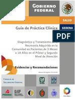 guia clinica practica neumonia en niños