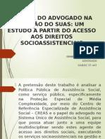 Apresentação Artigo  - UNESC