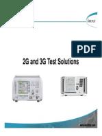 Aero 2G3G Solutions