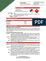 Hoja de Seguridad Disolvente PDF