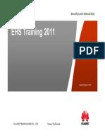 Main - EHS Training 2011