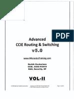 Narbik CCIE RnS Advance- V5-Vol1