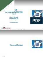 Csa Npa Oct 2012 Second Screen