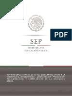 Normas Especificas Basica 2015-2016