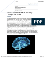 7 Ways Meditation Can Actually Change the Brain - Forbes
