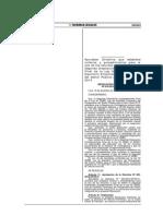 Directivas 002 y 003 Que Aprueba Criterios Tã‰Cnicos Para El Uso de Recursos