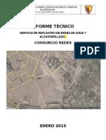Informe Unico Para Certificacion de Puntos Geodesicos de Orden C