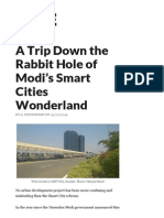 A Trip Down the Rabbit Hole of Modi's Smart Cities Wonderland _ the Wire