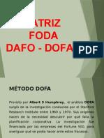 La Matriz Foda 19092015