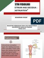 II - The Endometrium and Decidua