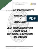Plan de Mantenimiento a Infraestructura de La UNACAR
