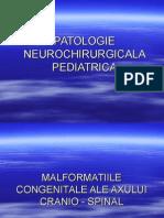 PATOLOGIE NEUROCHIRURGICALA PEDIATRICA