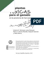 Plantas toxicas para el ganado de San Juan