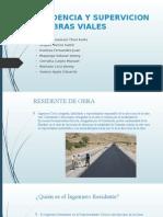 Residencia y Supervicion de Obras Viales
