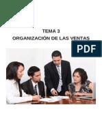 ORGANIZACIÓN DE LAS VENTAS
