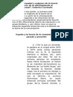 El Estado Español y Orígenes de La Teoría Comunizadora