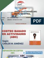 Primera Exposicion Costos ABC Industrial