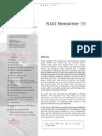 Nias Newsletter 39