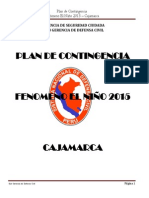 Plan Fenomeno Niño 2015