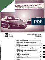 Manual Del Propietario 1994 en Español