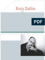 Byography about Carlos Ruiz Zafón