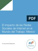 El Impacto de Redes Sociales en El Mundo Del Trabajo Mexico