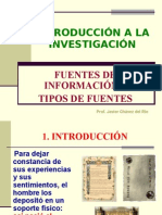 Fuentes Bibliograficas - Tipos