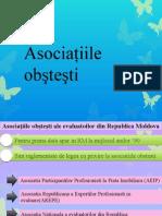 Asociaţiile Obşteşti Din CSI Şi Europa
