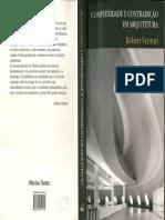 Robert Venturi - Complexidade e Contradição Em Arquitetura