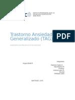 Trastorno Ansiedad Generalizado (TAG)