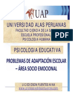 2 Problema de Adaptacion Escolar Emocional