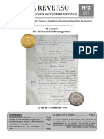Boletin numismatico N° 3 - Abril 2010