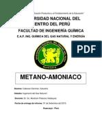 Informe Metano Amoniaco Cabezas