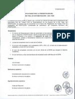 Orientaciones Para Presentacion Del Informe Final de Sistematizacion
