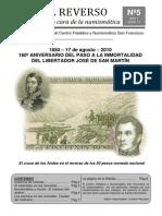 Boletin numismatico N° 5 - Agosto 2010