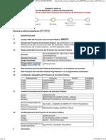 Ficha SNIP 308375 Mejoramiento Cadena Productiva Piña en Sistemas Agroforestales Region Junin