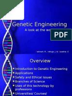 Genetic Engineering (Gowshia, Fatimah, Inthuja)