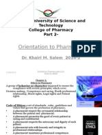 Orientation to Pharmacy 2014-Part 2