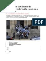 Cromañón La Cámara de Casación Confirmó La Condena de Callejeros
