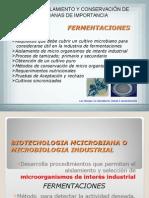 Aislamiento y Conservacion de Cepas Microbianas