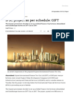 IFSC Project as Per Schedule_ GIFT - Livemint