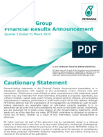 Financial and Operational Review First Quarter Ended 31 March 2015 (FY2015)