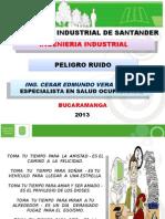 Peligro Ruido Ing Industrial Uis Cesar 2013