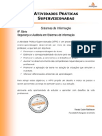 ATPS Seguranca Auditoria Sistemas Informacao